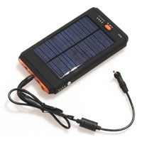 12000mAh laptop solar charger/solar notebook charger