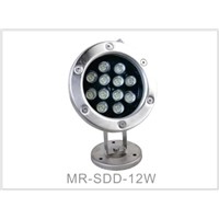 12W LED Underwater Light Swimming Pool Light Fountain Light