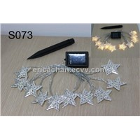 12 LED Star solar powered string light