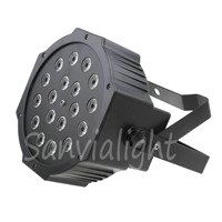 18x1W flat led mini par can