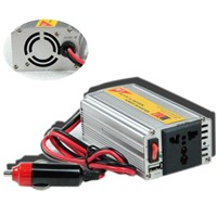 200W Modified Sine Wave DC to AC Car Power Inverter with USB Universal Socket