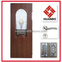 2014 Interior MDF wooden PVC bathroom doors