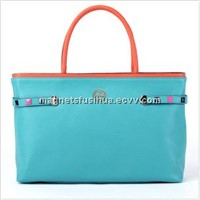 2014 Popular and Fashionable Ladies Leather Tote Bag/Handbag