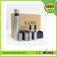 2014 The latest variable voltage LCD stainless steel mod Vamo V5 kit with factory best price