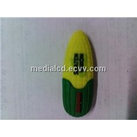 2014 custom corn usb flash drive/Plastic corn usb