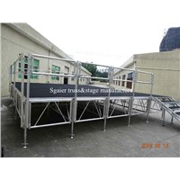 2014 hot sale trailer mobile stages for sale event stage