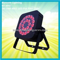 24*10W 4IN1 LED Flat Par Light (BS-2037)