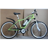 "26"" ELECTRIC MOUNTAIN BICYCLE  CENTER MOTOR"