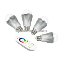 2.4G Remote Control 9W RGBW WiFi LED Bulb Light