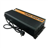 3000W Modified Sine Wave Inverter with Charger, 12V DC to 220V AC Power Inverter, 6000W Peak Power