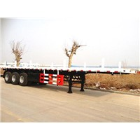 3 AXLES/60T FLAT BED SEMI TRAILER-Container Trailer