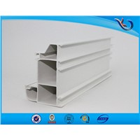 3 Track Mosquito Net uPVC Profile Window Reception Sliding Window