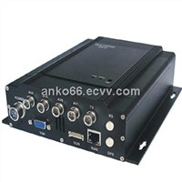 4CH Mobile DVR with 3G/GPS/WiFi