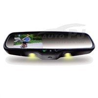 "4.3"" OEM Bluetooth Car Rear View Mirror with Auto Brightness Adjustment and Warm Lights (HM-430BT)"