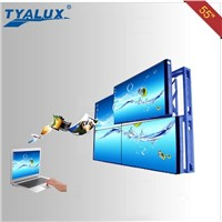 55 inch LCD video wall with 5.3mm screen to screen