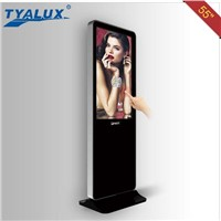 55inch kiosk touch screen digital lcd signage