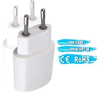 5V 1A usb travel charger for iphone