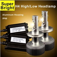6400lm 60w h4 cree led car headlight