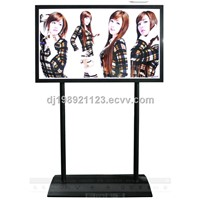 "65"" full HD network floor standing digital signage lcd display ,floor standing lcd ad player"