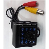 700TVL IR Infrared Mini Camera IR 940nm,Bird House Camera 10pcs Invisible Light IR Leds.