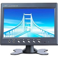 2 AV 7 Inch Stand-Alone TFT LCD Monitor BNC Interface