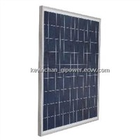 80W Poly Solar Panel with TUV,CE,ROHS