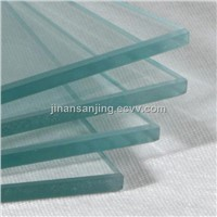 8mm 10mm 12mm clear bent /curved tempered glass for building