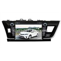 9inch double din Toyota Corolla 2014 multimedia system