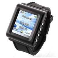 AK912 Watch Mobile Phone,Wrist Mobile Phone,SOS AD function thinnest music watch mobile phone