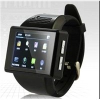 AN1 Smart Watch Phone Mtk6515 dual core android 4.1 bluetooth GPS Wifi compass