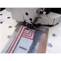 Acrylic quilting template router cutter