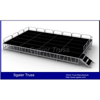 Aluminum mobile stage for sale concert stage for sale