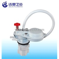 Anti-siphon fill valve in white