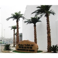 Artificial fake plastic  Washington palm tree /royal palm tree for decoration outdoor and indoor