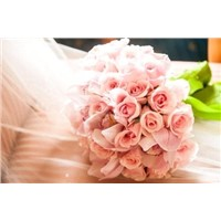 Artificially fake plastic pu flower silk rose buds balls wreath  Real touch rose for weddings