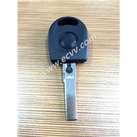 Auto key shell for VW B5 cars with a light (a battery inside)