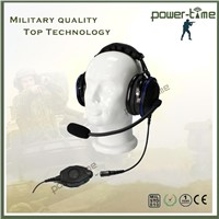 Aviation headband headset