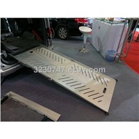 BEWR Electric wheelchair ramp for van