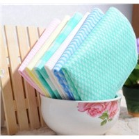 Bamboo fiber kitchen cleaning cloth