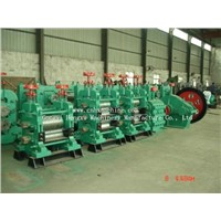 Bar and wire rod production line
