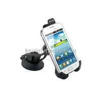 Basic car phone holder suction cup cell phone mount for samsung iphone