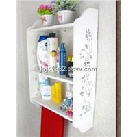 Bathroom SHELF Storage rack white color 3 layers