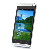 C9600 Smartphone Android 4.0 SC6820 1.0GHz 4.0 Inch WiFi FM -White & Blue Students elderly