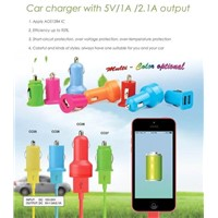 Car Charger with 5V/2.0A Output