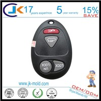 Car key part two shot plastic molding manufacturer