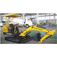 China Made 1.8t Small Backhoe Excavator
