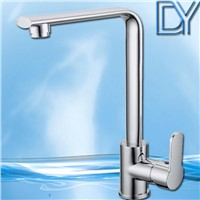 Chrome plated solid brass tap Kitchen sink faucet