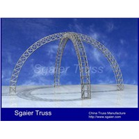 Circle truss arch truss curved truss China truss round truss