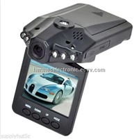 "Clearance Sale H198 Car Recorder with 120 Degree View Angle+2.5"" LCD+6 IR LED+Night Vision DVR"