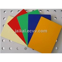 Colored aluminum composite panel